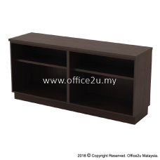 Q-YOO7160-W COMBINATION LOW CABINET (DUAL OPEN SHELF)